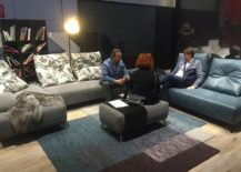 Trendy and relaxing sofas and coffee tables from Koinor at Milan 2016