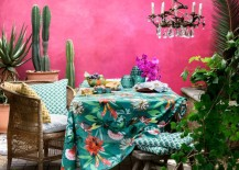 Tropical meets Boho style at H&M Home