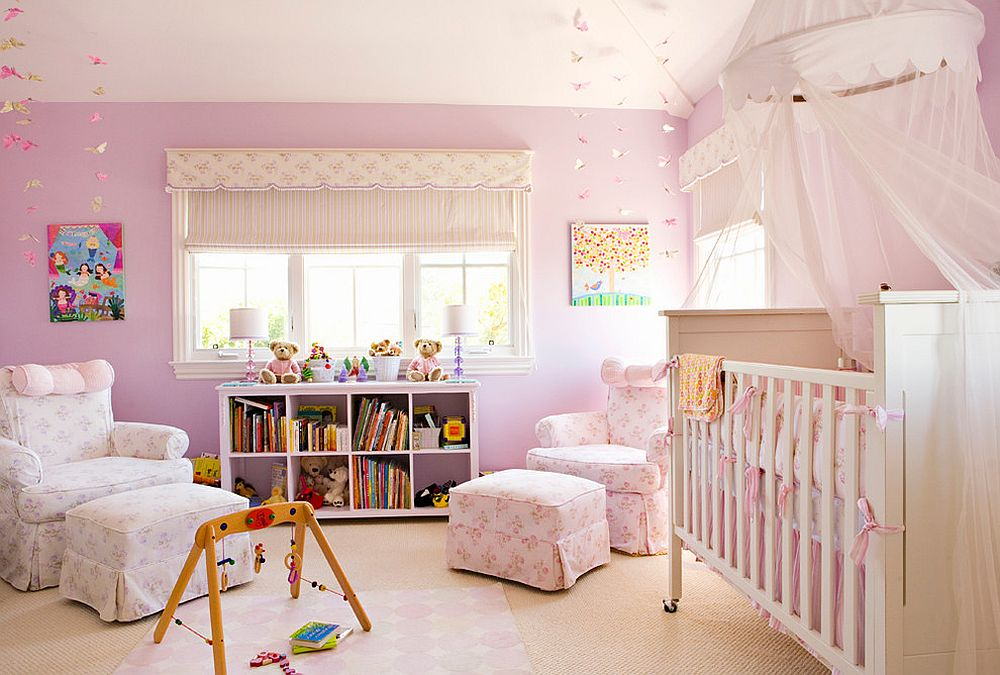 Cute Nurseries 20 gorgeous nurseries with purple panache