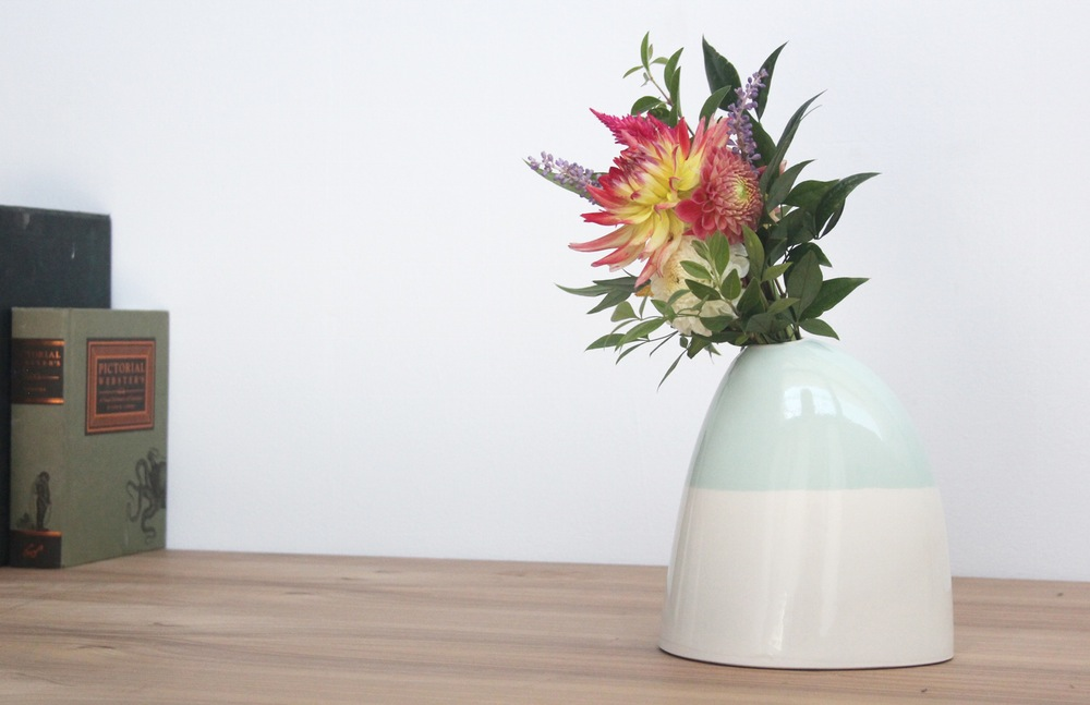 Two-tone vase from Bean & Bailey