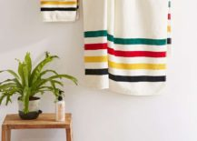 Vivid striped towels from Urban Outfitters