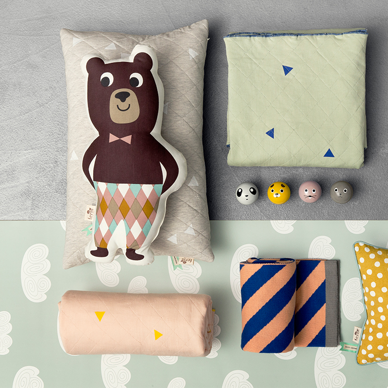 Wall hooks for kids via ferm LIVING