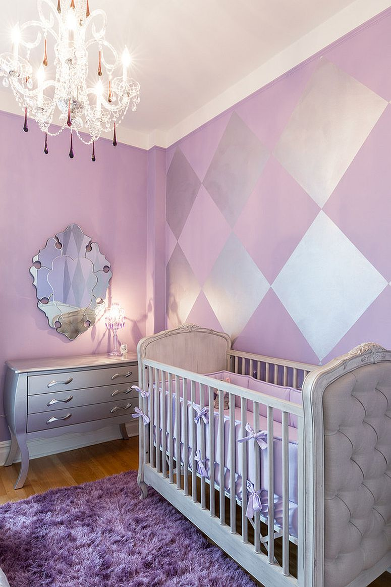 Who says nurseries cannot be trendy and fashionable [Design: Rococo Design Interiors / Ursallie Smith]