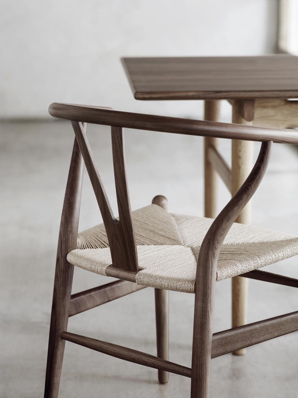 Wishbone Chair detail. Image © Carl Hansen & Søn.