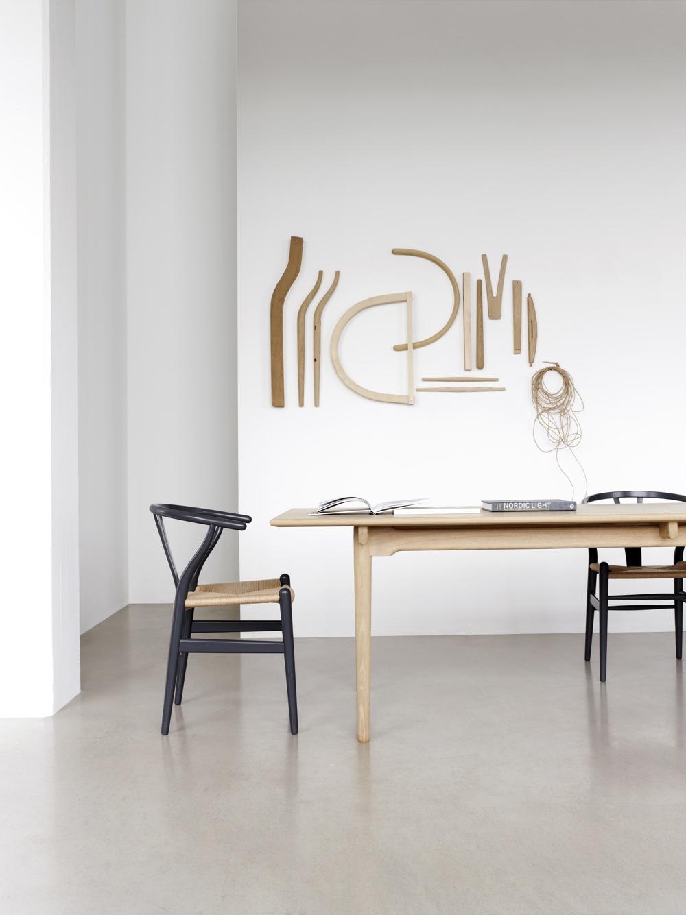 Wishbone Chair, designed in 1949 by Hans J. Wegner. Image © Carl Hansen & Søn.