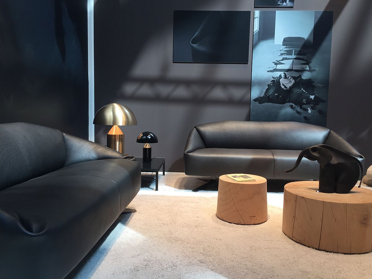 World class DS-373 sofa by Alfredo Häberli - de Sede furniture at Milan 2016