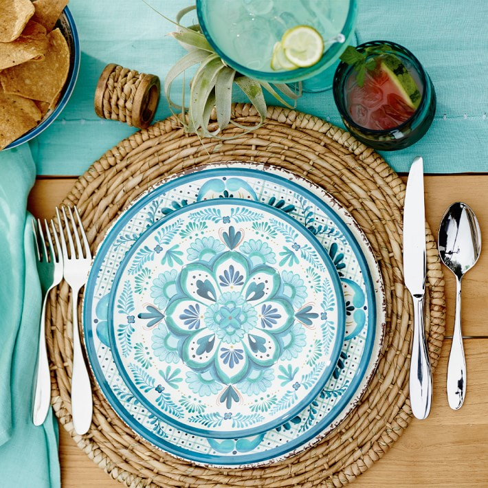 Woven place mat from Williams-Sonoma