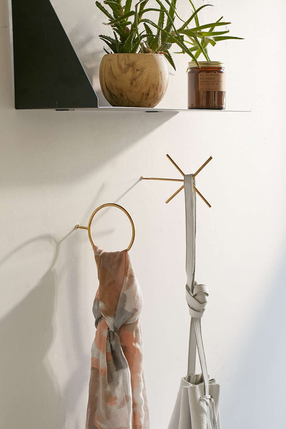 X and O wall hooks from Urban Outfitters