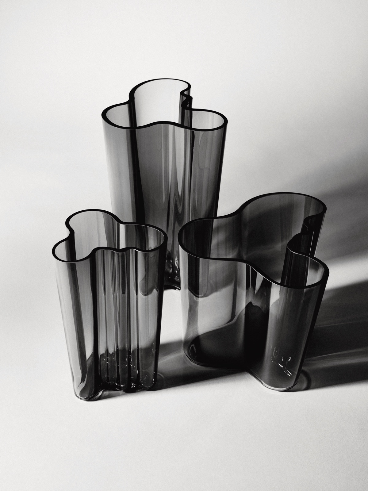 Aalto Vases, grey.