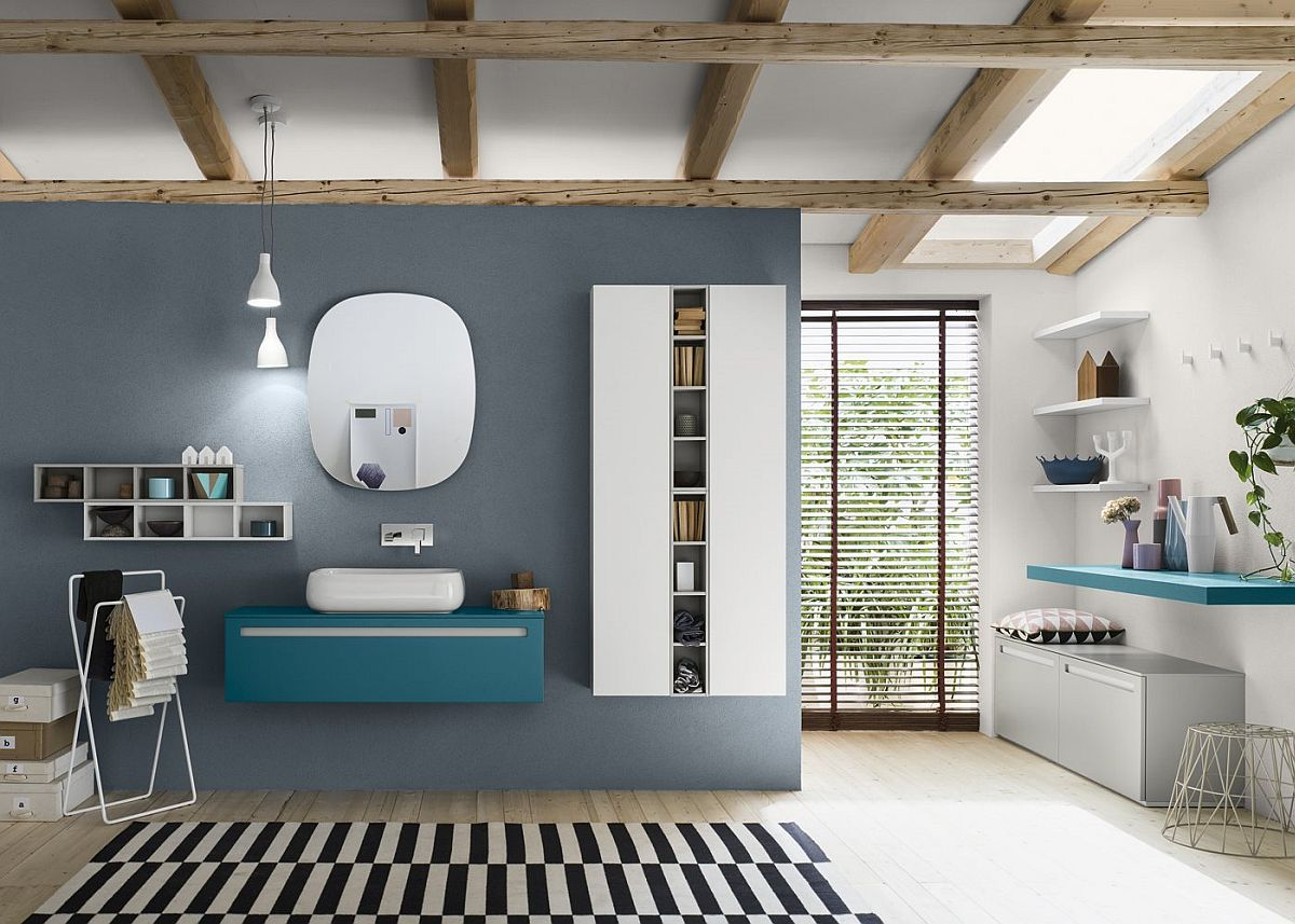 Charmant View In Gallery Add Color To Your Bathroom With Modular System Progetto