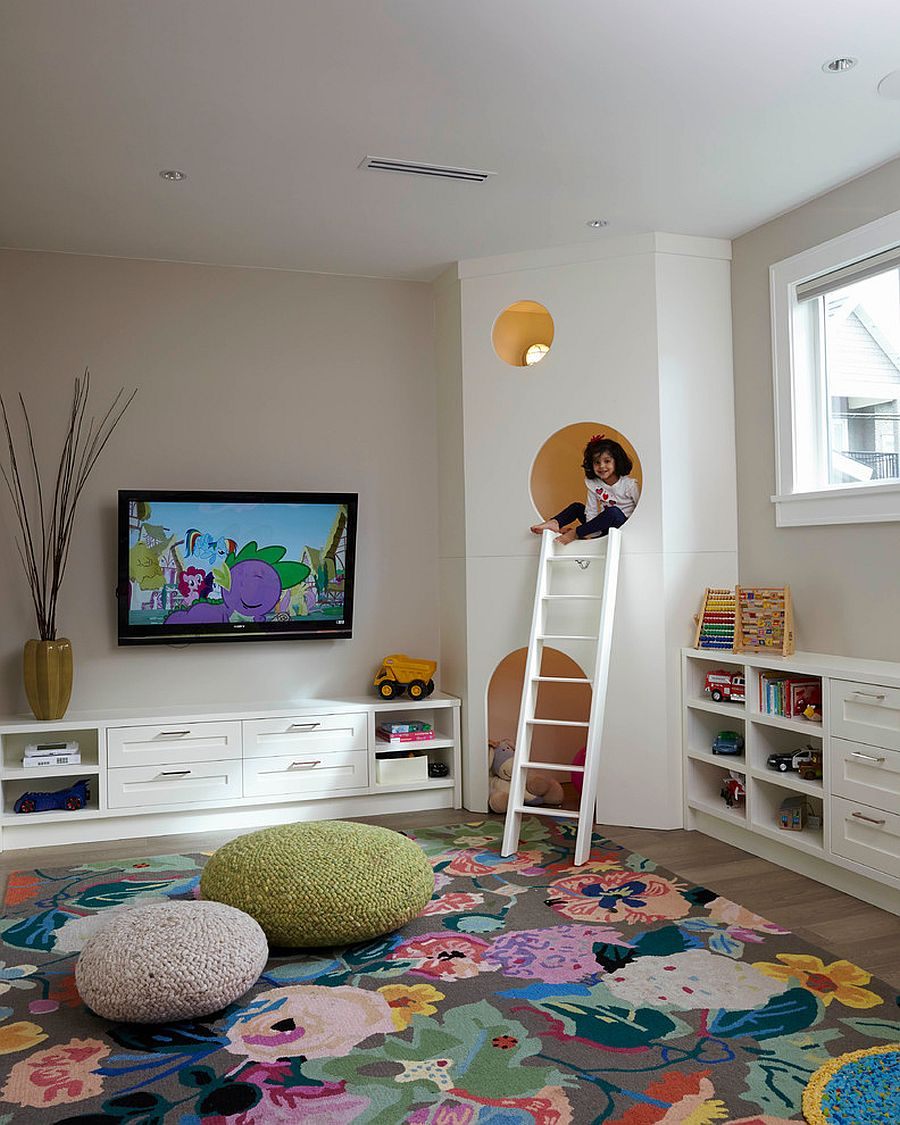 Colorful Kids Room Design: Colorful Zest: 25 Eye-Catching Rug Ideas For Kids' Rooms