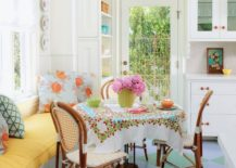 Adding-bright-eclectic-style-through-a-round-tablecloth-217x155