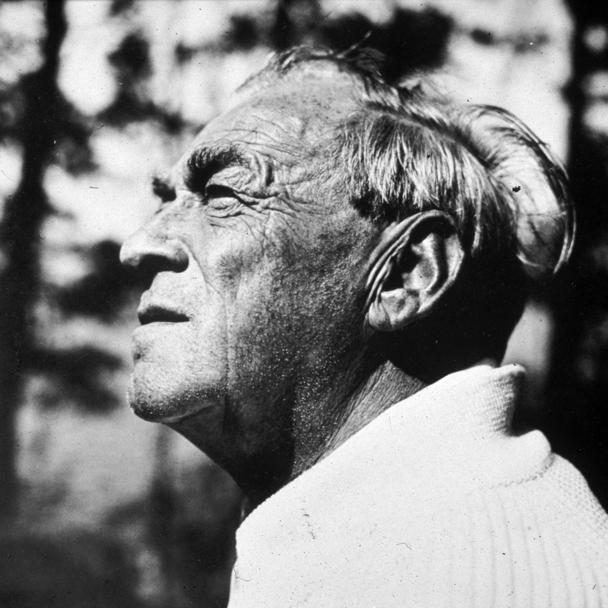 Alvar Aalto in the 1960s. Photo by Trond Hedström.
