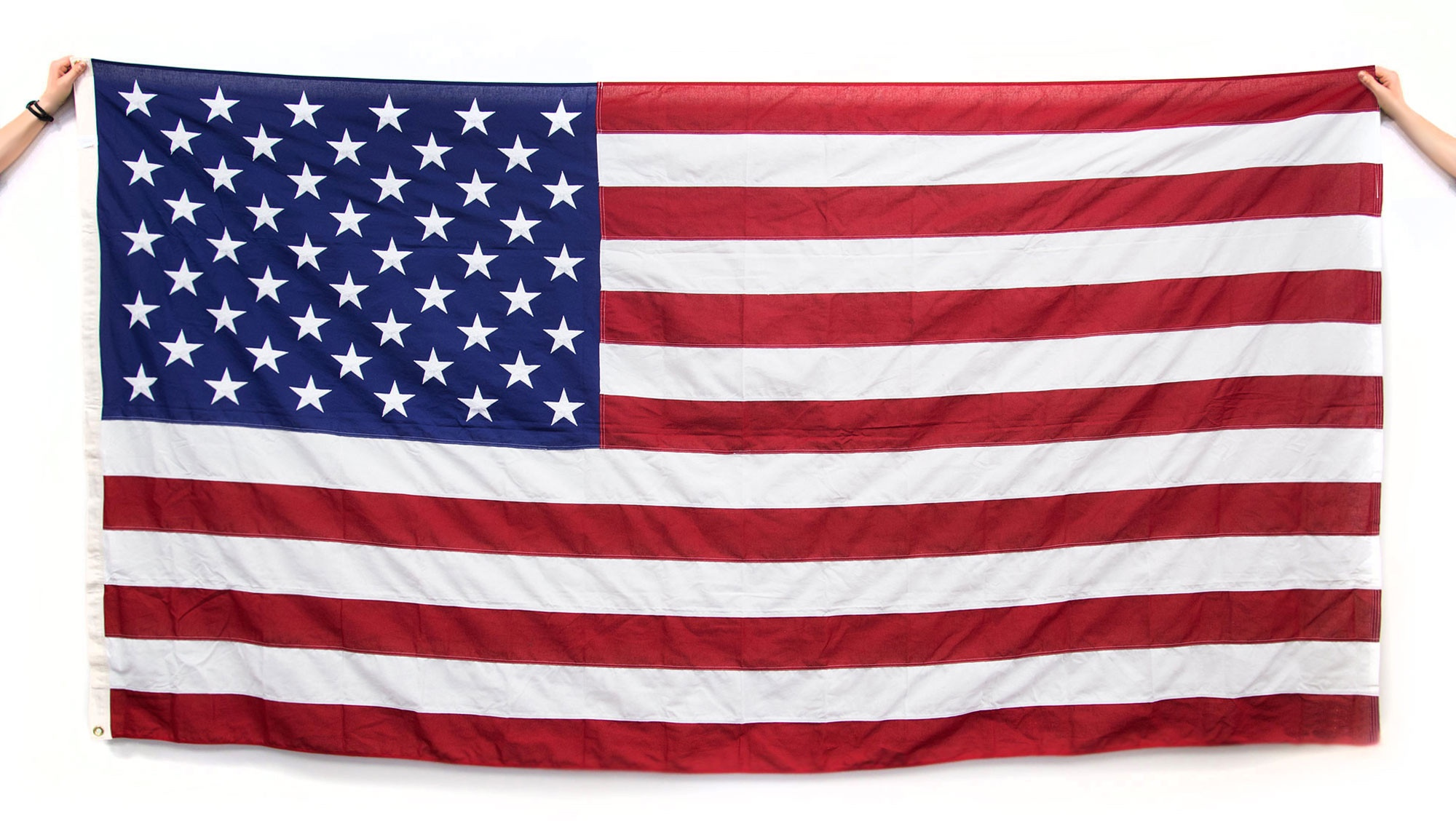 This American Flag ishand sewn in the USA by All Seasons Apparel.Image© Shinola 2016.