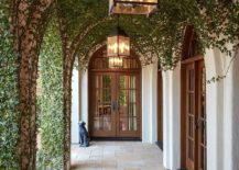 An entrance to behold - Mediterranean style at its brilliant best!
