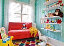 Attractive-rug-design-breaks-the-visual-monotony-of-the-kids-room-217x155