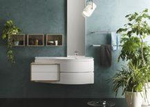 Avantgarde vanity units transform your bathroom in space savvy style 217x155 Giving Contemporary Bathrooms a Curvy Twist: Avantgarde by Inda