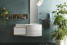 Giving Contemporary Bathrooms a Curvy Twist: Avantgarde by Inda
