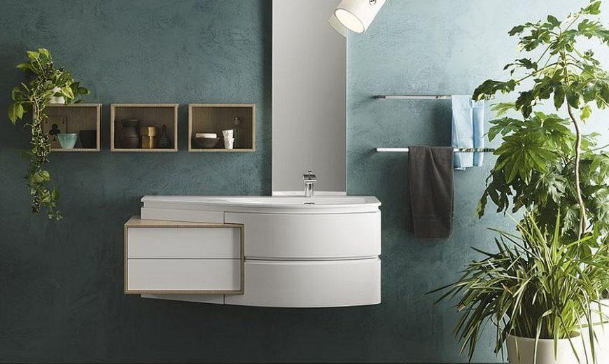 Giving Contemporary Bathrooms a Curvy Twist: Avantgarde by Inda