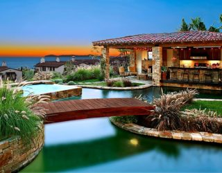 25 Fascinating Pool Bridge Ideas That Leave You Enthralled!