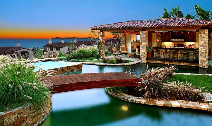 Fascinating Pool Bridge Ideas That Leave You Enthralled ...