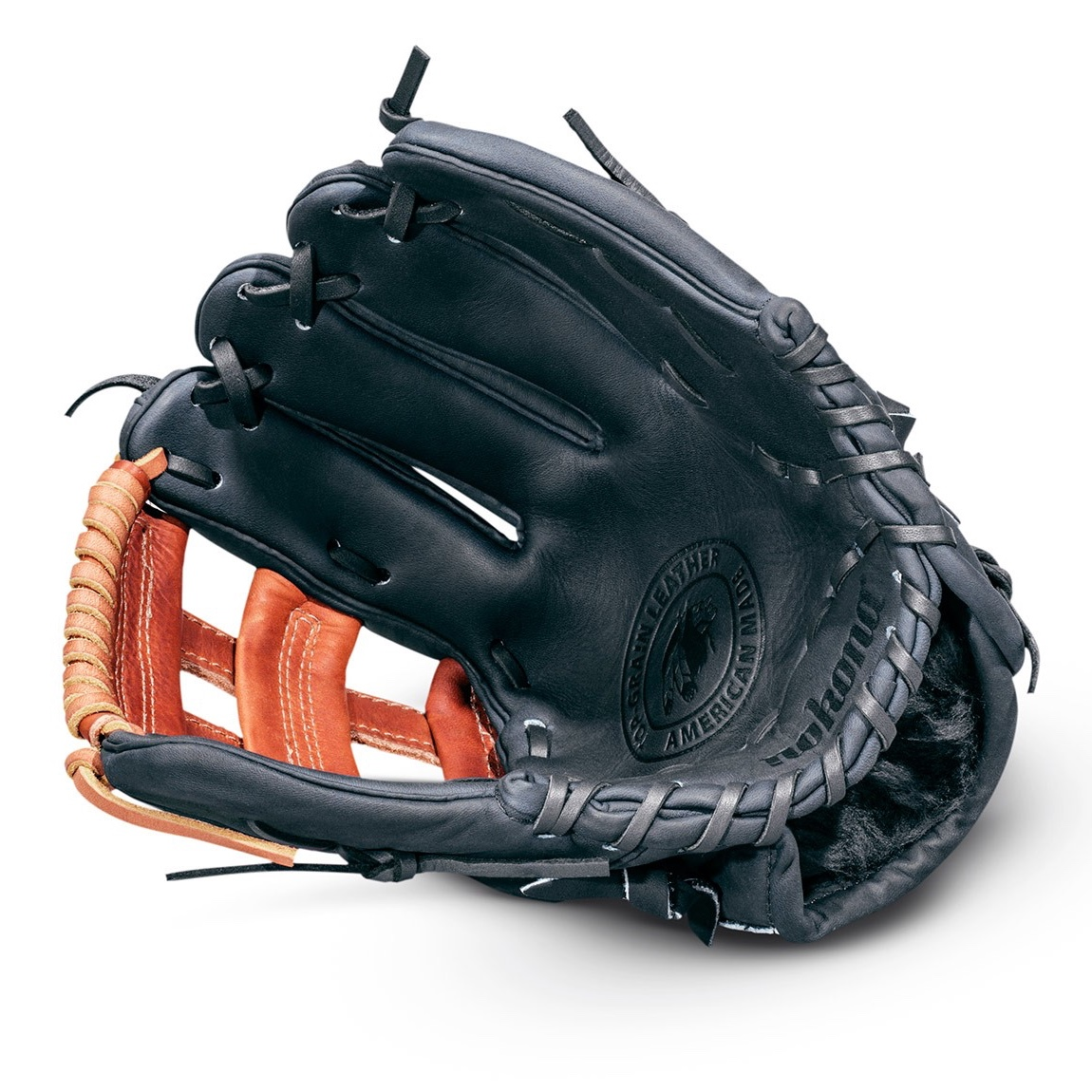 Shinola + Nokona Baseball Glove. Nokona has been manufacturing ball gloves in the USA since 1934. Image © Shinola 2016.