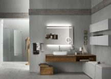 Bathroom modular system Progetto by Inda
