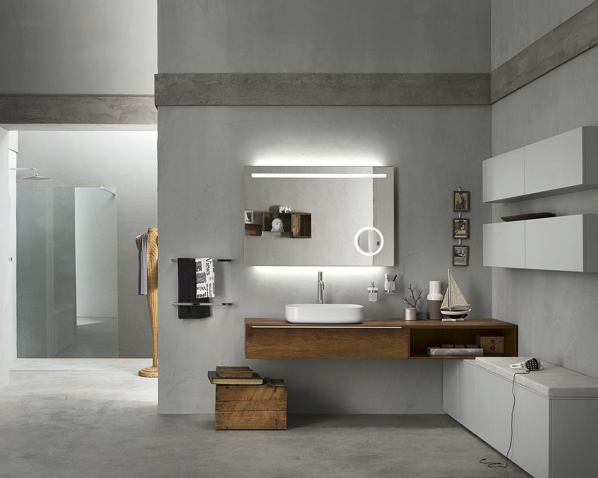 Bathroom modular system Progetto by Inda