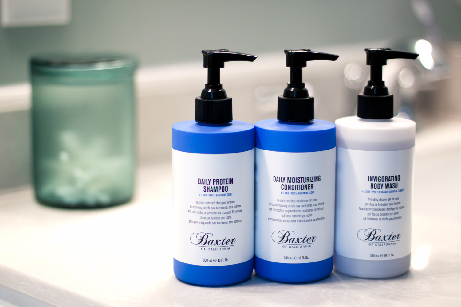 Baxter grooming products