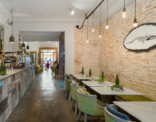 1920s House Turned into Mexico's First Restaurant Serving Waffle Sandwiches