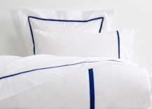 Blue and white bedding from Zara Home