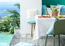 Blue and white style from H&M Home