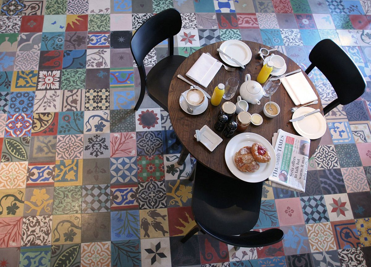 25 creative patchwork tile ideas full of color and pattern - Suelos de ceramica baratos ...