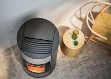 Brand new fireboz of Halo pellet stove with ergonomic design