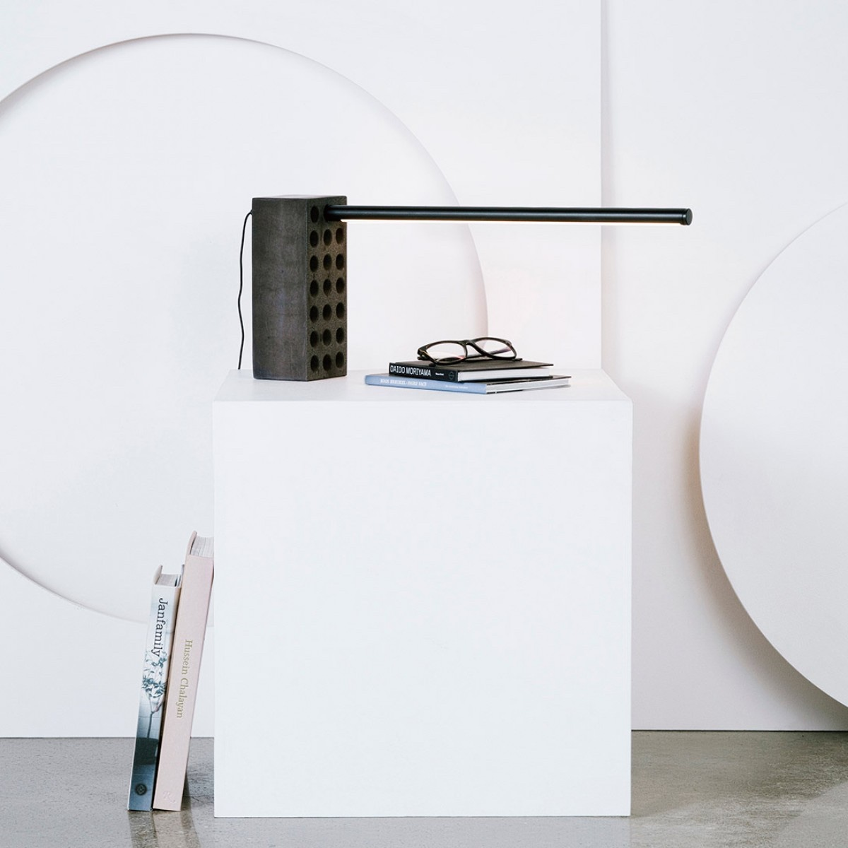 The Brick Lamp. An adjustable LED task lamp for Umbra Shift. Image courtesy of Umbra Shift.
