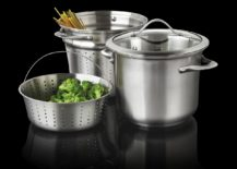 Calphalon cookware available through Wayfair 217x155 Stainless Steel Pots for the Modern Kitchen