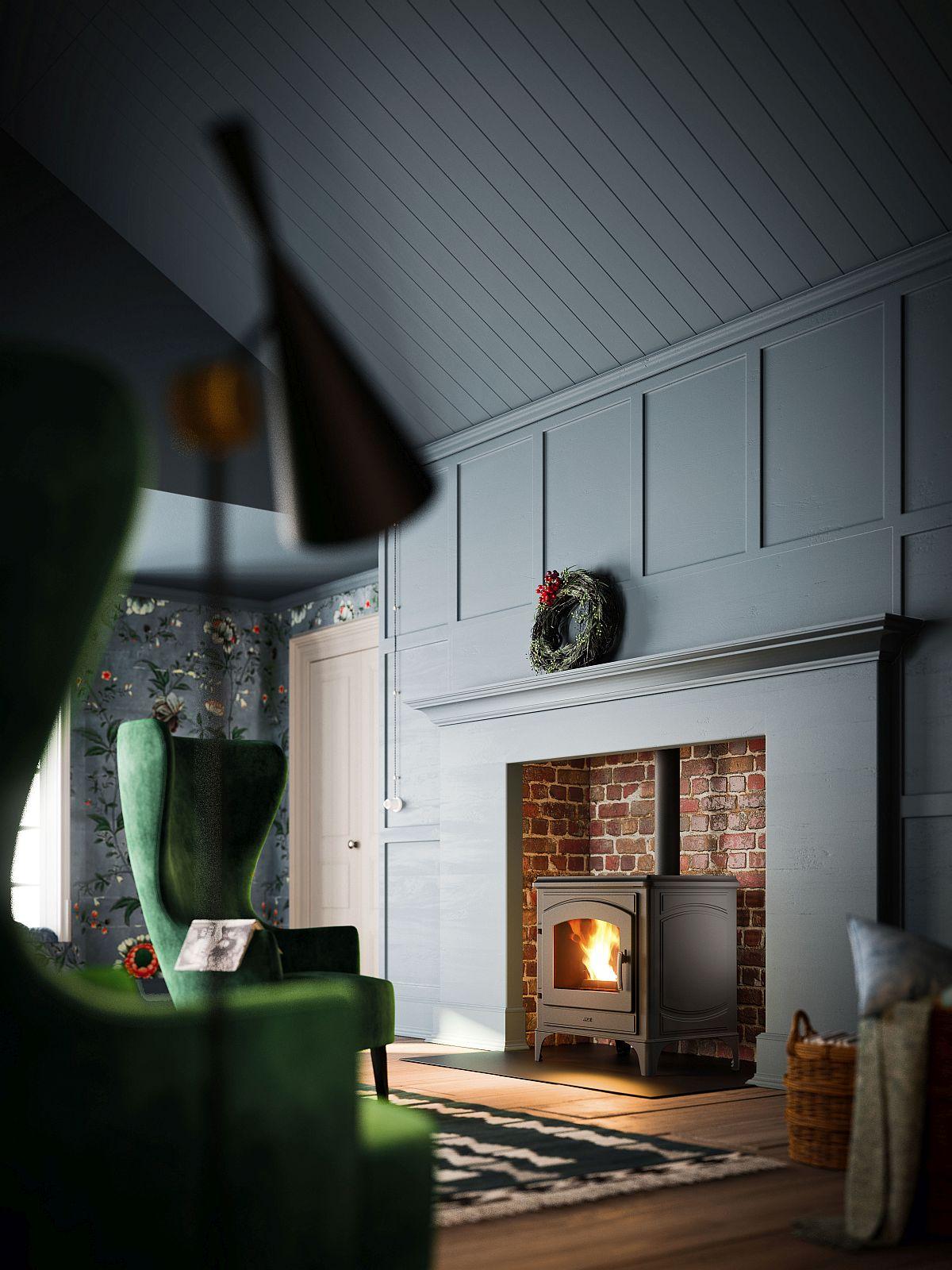 eco friendly range of pellet stoves for the modern home