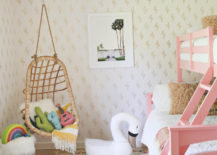 Child-friendly guest room from A Beautiful Mess