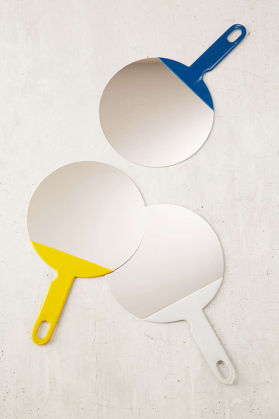 View In Gallery Color Blocked Mirrors From Urban Outers