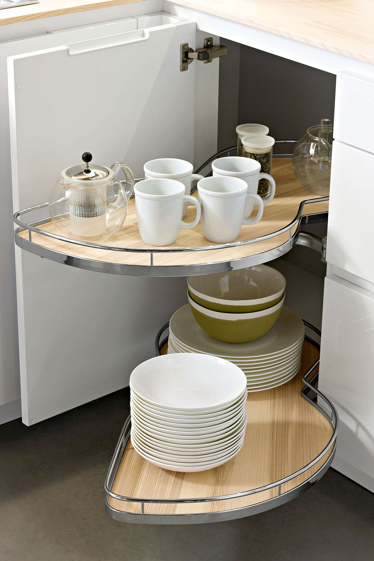 Combine Heritage with unique range of kitchen storage solutions from Snaidero