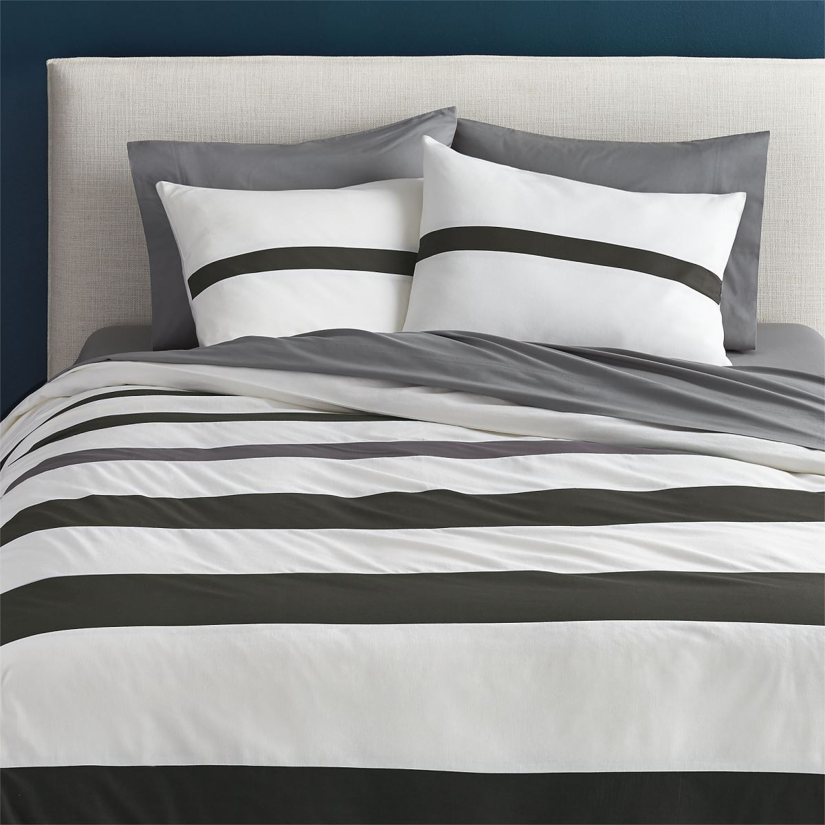Comfy bedding makes a big difference