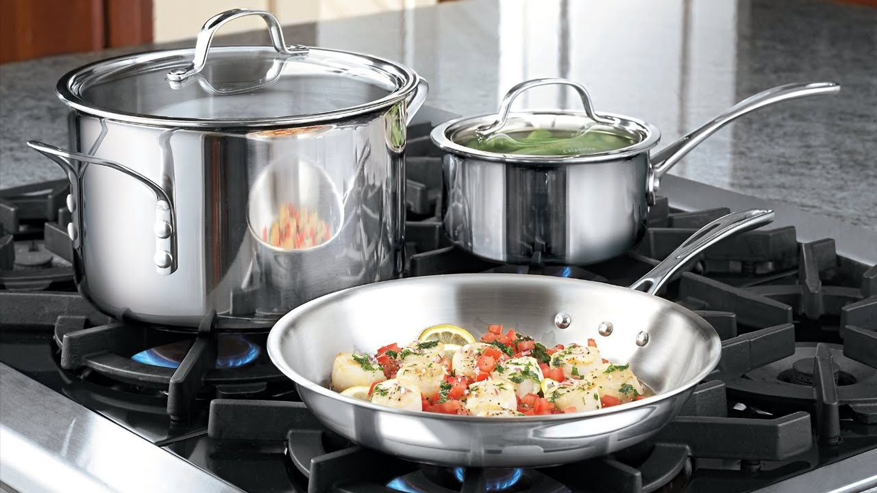 Cookware set from Calphalon