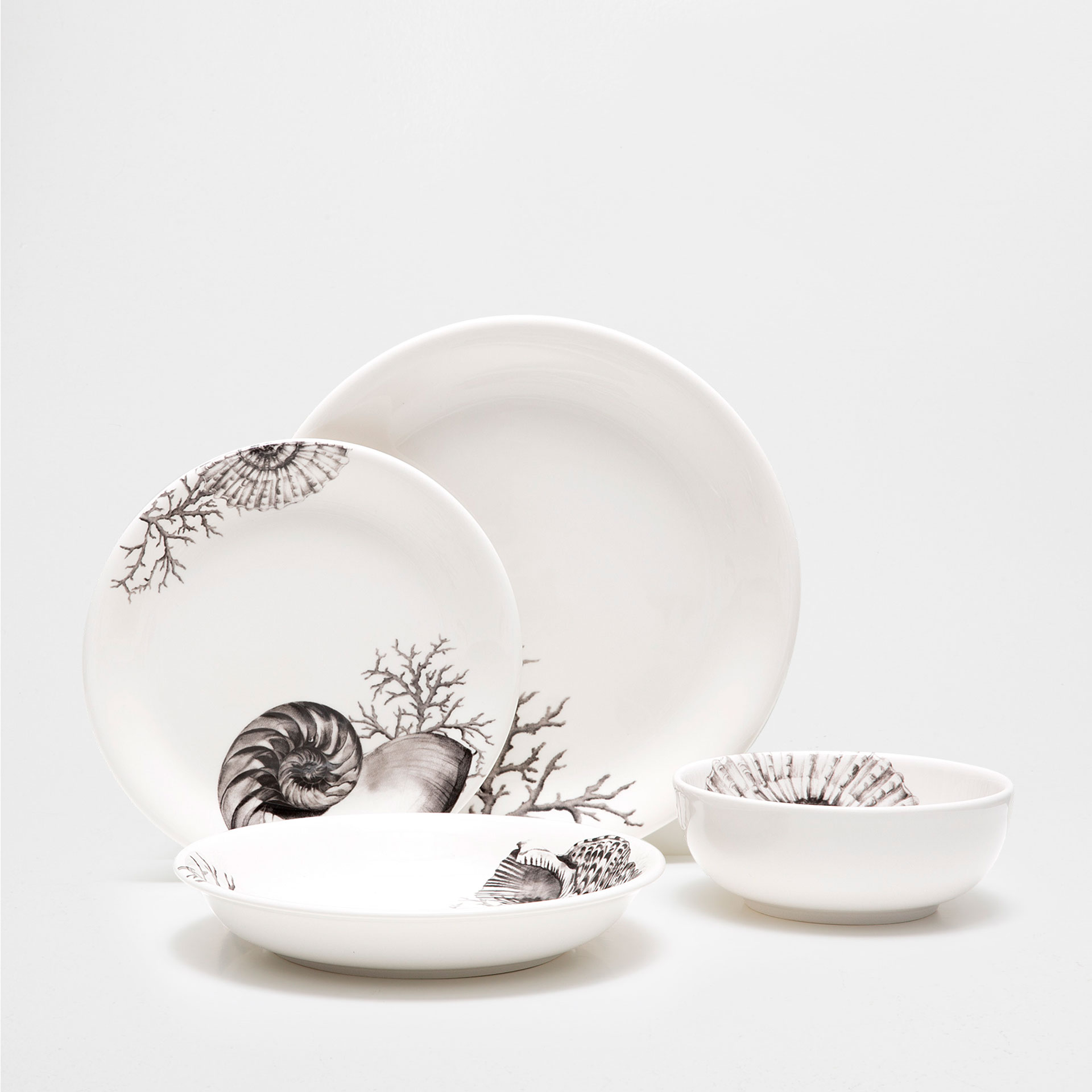 Coral dinnerware from Zara Home