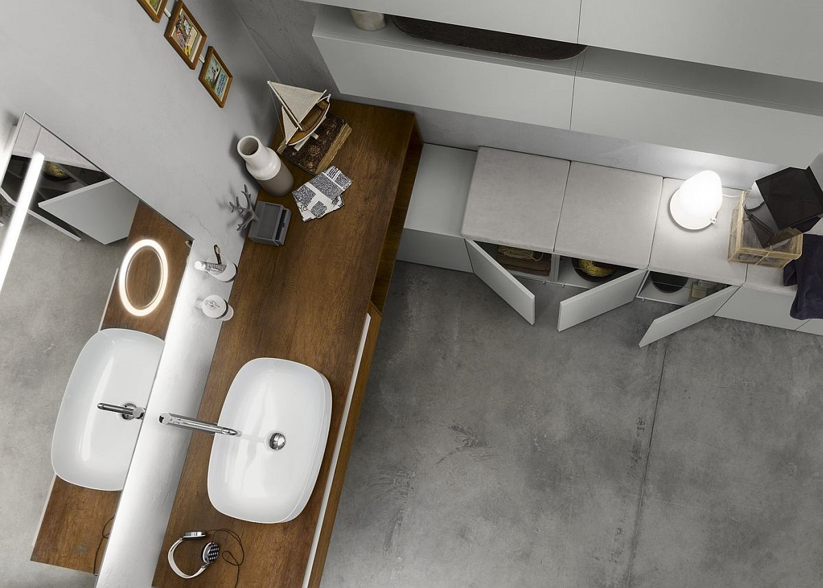 Progetto modular system alters your approach to bathroom for Design your own bathroom