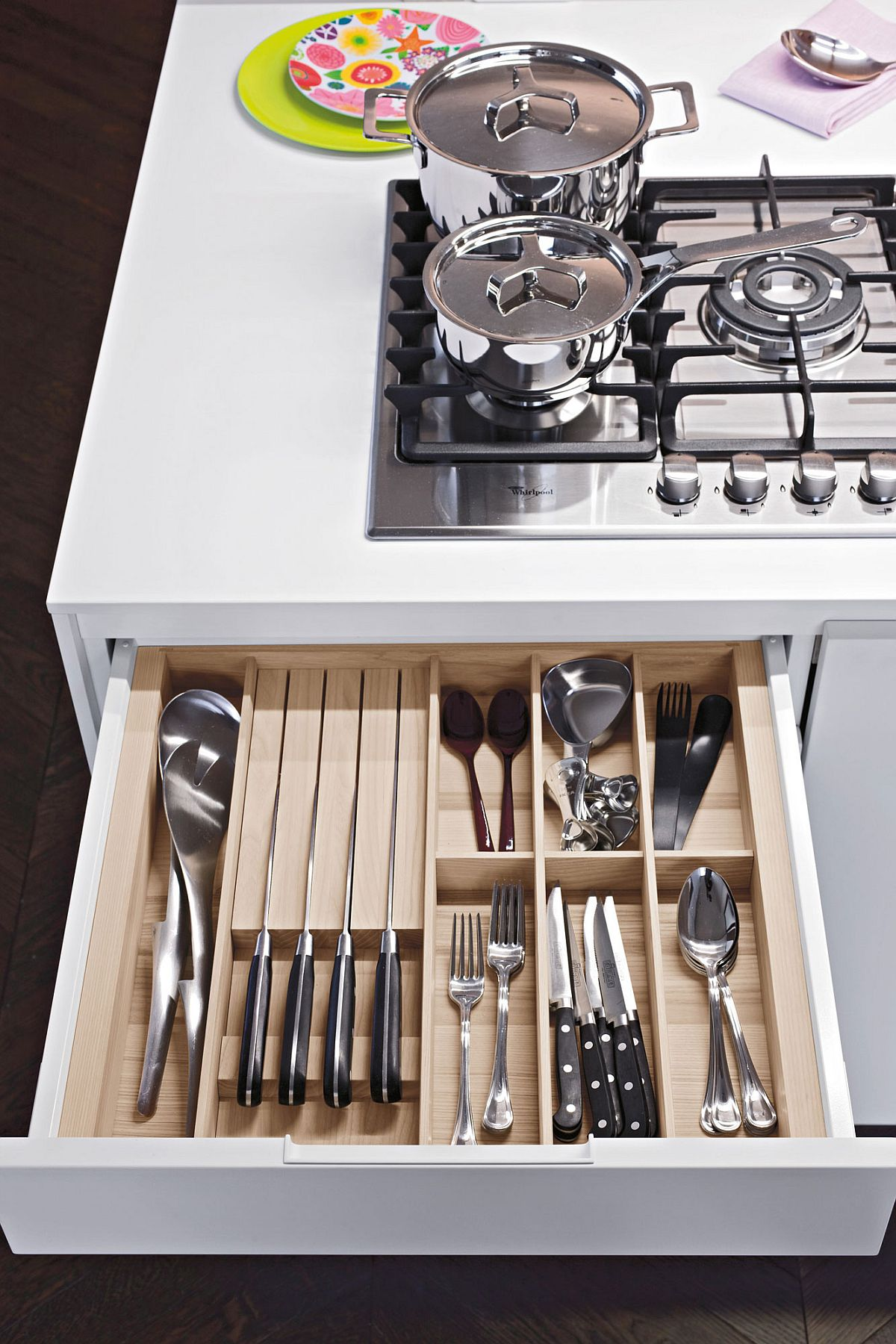 Custom accessories available for the Heritage range of Kitchens