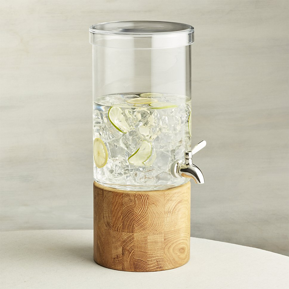 Drink dispenser from Crate & Barrel