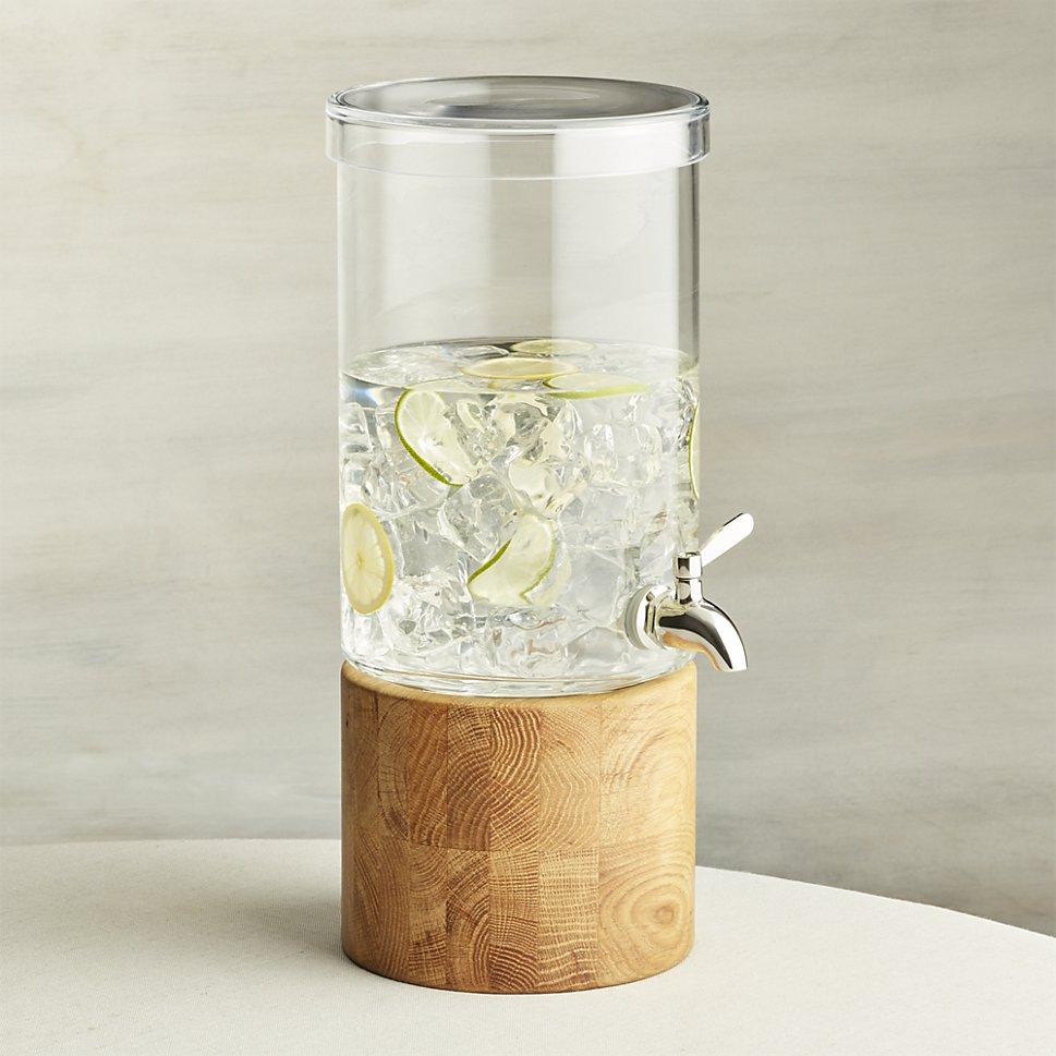 Drink dispenser from Crate & Barrel