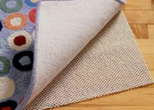 Eco-friendly rug pad from The Land of Nod