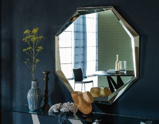 A Trendy Silhouette: Novel Mirrors That Usher in Geometric Style