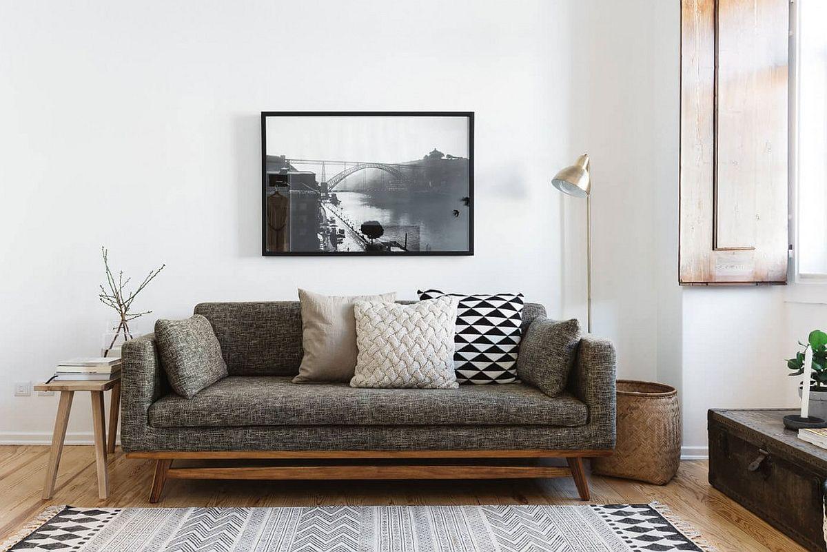 Elegant modern decor and itelligent design transform smart Sao Bento Apartment